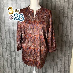Greene & Grand kimono style blouse🌟🌟🌟3/$25